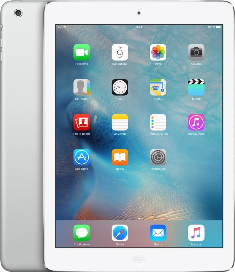 Планшет Apple iPad Air 2019 Wi-Fi + 4G 256GB Silver - 1