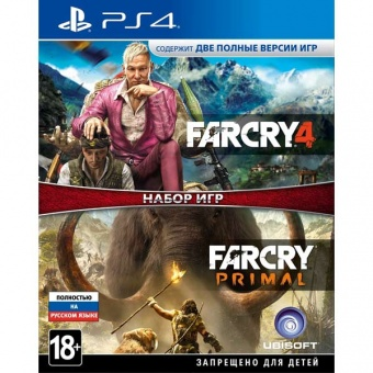 Far Cry 4 + Far Cry Primal (PS4)